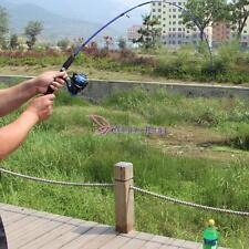 1.2M Portable Carbon Fiber Reinforce Lure Telescopic Fishing Rod Spinning Pole