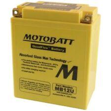 New Motobatt MB12U 15Ah Battery 12N12-4A 12N12A-4A-1 YB12A-A YB12AAS YB12A-A-WS