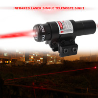 Tactical Red Laser Lazer Beam Dot Sight Scope w/Mount Gun Rifle Pistol HuntingLH