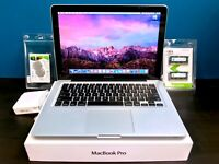 Apple MacBook Pro 13 inch Pre-Retina / 500GB STORAGE MacOS 3 YEAR WARRANTY!