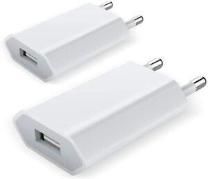 Chargeur iPhone Prise Secteur USB Adaptateur USB Universel iPhone 6 7 8 XS XR 11