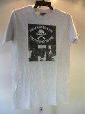 New Too Fast To Live Too Young to Die Let It Rock Diy Punk Rocker T Shirt Men S