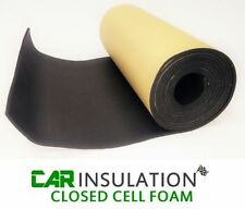 5m x 0.5m 6mm Closed Cell Foam Adhesive Craft Material Black Leather Backing Mat