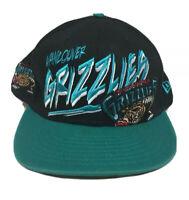 Vancouver Grizzlies NBA New Era Cap Hat Adjustable Snapback Hardwood Classics