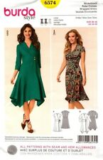Burda Sewing Pattern 6574 Burda Style Womens Dress Size 10-20