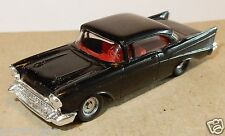 micro EXACTS MONOGRAM HO 1/87 CHEVROLET CHEVY BEL AIR 57 NOIRE