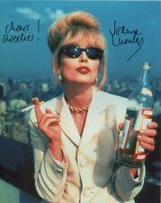 Joanna Lumley Signed Photo - Absolutely Fabulous - B918