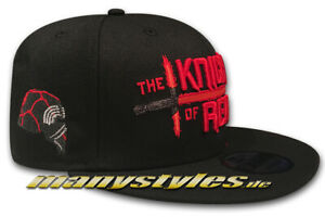 NEW ERA STAR WARS 9 Snapback CAP Knights of Ren KyloRen Black Official rise of