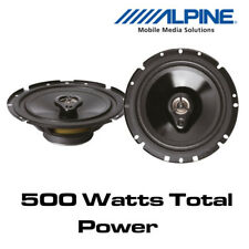 """Ford Focus C-Max 2003> Alpine SXV-1735E - 6.5"""" 16.5cm 3-Way Coaxial Speakers"""