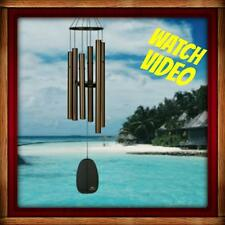 New Woodstock Chimes Bells Of Paradise, Medium Bronze Wind Chime Musically Tuned