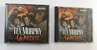 Tex Murphy Overseer PC CD-ROM Game Discs 1-5 & DVD Set