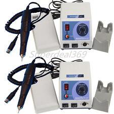 2*Dental Lab Marathon N7 Electric Micro Motor + 35,000 RPM Polishing Handpiece