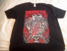 BABYMETAL California Metal Fox 2016 Negro T-Shirt último en tamaño XL UK Tour