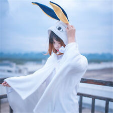 FGO Fate/Grand Order Caster Nitocris White Flannel Hoodie Cloak Cosplay Costume