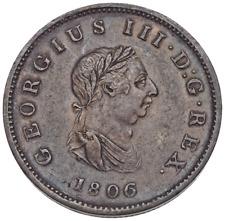 GREAT BRITAIN. George III, Halfpenny, 1806