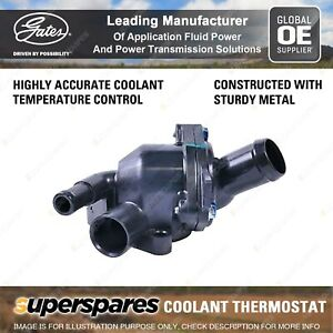 Gates Coolant Thermostat + Gaskets & Seals for Honda Accord CM CP Accord Euro CL