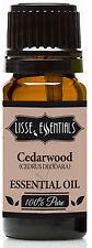 Lisse Essentials Cedarwood Essential Oil, 100% Pure Therapeutic Grade, 10 ml