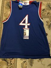 DEVONTE GRAHAM SIGNED JERSEY KANSAS JAYHAWKS CHARLOTTE HORNETS FINAL FOUR JSA