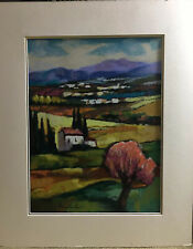 "SLAVA BRODINSKY HandSigned Limited Edition Art Serigraph ""ALMOND IN BLOSSOM"" COA"
