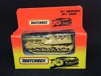 Matchbox #61 Abrams' M1 Tank - Unopened (1993)