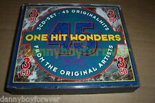 One Hit Wonders NM 3 CD Box Set 45 Songs Original Hits & Artists 60s 70s 80s