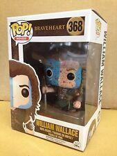 FUNKO POP! Braveheart WILLIAM WALLACE BLOODY F.Y.E #368 Exclusive Vinyl Figure