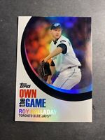 Toronto Blue Jays Roy Halladay 2007 Topps #OTH25 Own The Game Holo