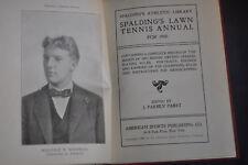 1900 *NEAR MINT* Spaldings Lawn Tennis Annual - HC