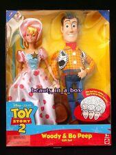 "Bo Peep Doll Woody Disney Toy Story 2 Together Gift Set NRFB G """