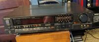 Technics Quartz Synthesizer AM/FM Stereo Receiver SA-R230 Vtg Phono Video Tuner