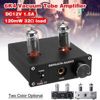 12V 1.5A  6K4 Mini Amplifier Vacuum Tube Headphone HIFI Stereo Audio Buffer