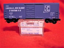 KADEE BLUE LABEL 24314(KD 24080) LNAC 40' Box Car w/o RW #144 'MINT' N-SCALE