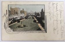 1904 Private Post Card Sydney, N.S.W. Wynyard Square Australia Postally Used