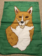 Brand New Corgi Dog Large Decorative Flag Green Garden Outside