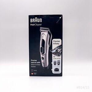 Braun Haarschneider HC5090 Ultimatives Haare schneiden in 17 Längen #B14/15