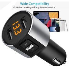 Wireless In-Car Bluetooth Fm Transmitter Mp3 Radio Adapter Car Kit Usb Car Charg