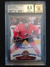 2010 UD World of Sports Canada Juniors Ryan Ellis signed card RC BGS 8.5 Auto 10
