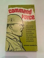 1973 Command Voice by Richard Sharretts Stackpole 2nd edition Paperback