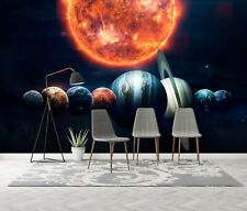 3D Planeta Marte R989 Papel de Parede Mural De Parede Autoadesivo Comércio Kay