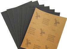 "10 pcs Hi Quality Abrasive Paper Eagle 2000 Grit 9"" x 11"" Wet Dry Waterproof"