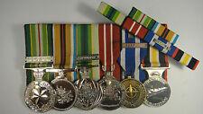 Australian Active Service Medal ICAT Afghanistan  ADM NATO Medal ISAF
