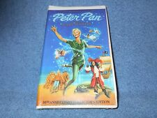 PETER PAN STARRING MARY MARTIN 30TH ANNIVERSARY CLCTRS EDITION VHS - NEW SEALED