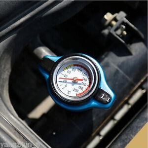 1Pc Car 1.1Bar Thermostatic Radiator Cap Pressure Rating Temperature Meter Gauge