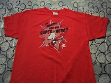 XL- Did Someone Call For A Super Hero Knotts Snoopy Cedar Fair Brand T- Shirt