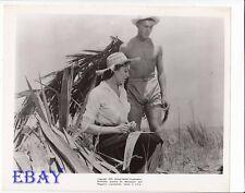 Tab Hunter barechested, Linda Darnell VINTAGE Photo Island Of Desire