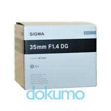 NEU Sigma 35mm F1.4 DG HSM Art Lens For Nikon