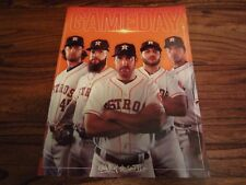 May 2018 Houston Astros Program Game Day Verlander Cole Morton Keuchel McCullers