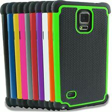 Für Samsung Galaxy Note S4 S5 S6 S7 S8 Mini Outdoor Case Cover Hülle Panzerfolie