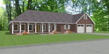 Custom House Home Blueprints Plans 3 bedroom 2217sf PDF Bonus Rm
