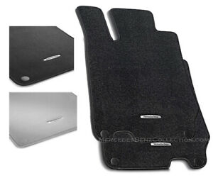 Mercedes-Benz Genuine OEM Carpeted Floor Mats 2003 to 2012 SL-Class (R230)